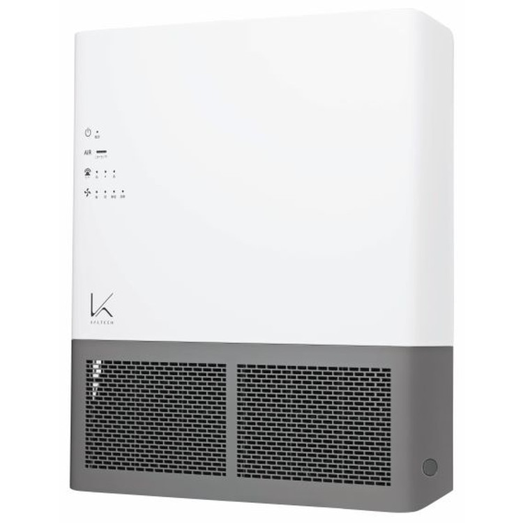 空気清浄機 カルテック 光触媒 除菌・脱臭機 TURND K(ターンドケイ) 壁掛けタイプ業務用 24畳