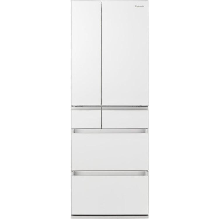 【標準設置対応付】パナソニック NR-F507PX- パーシャル搭載冷蔵庫501L・フレンチドア 6ドア スノーホワイト