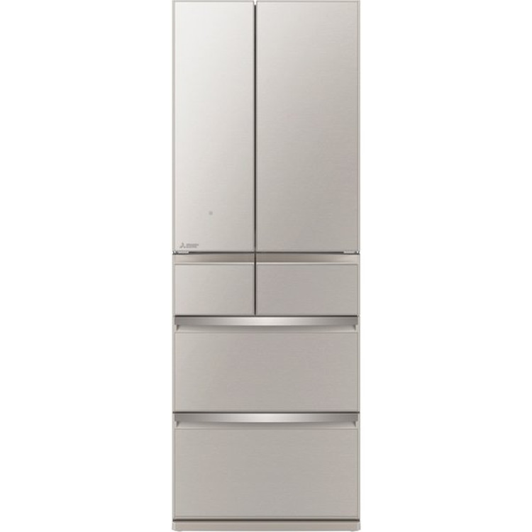 【標準設置対応付】三菱電機 MR-WX52G-C 冷蔵庫(517L・フレンチドア) 6ドア グレイングレージュ