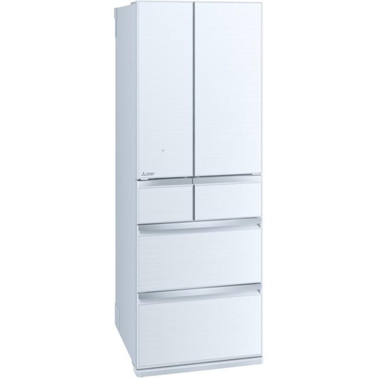 【標準設置対応付】三菱電機 MR-WX47G-W 冷蔵庫(470L・フレンチドア) 6ドア クリスタルホワイト