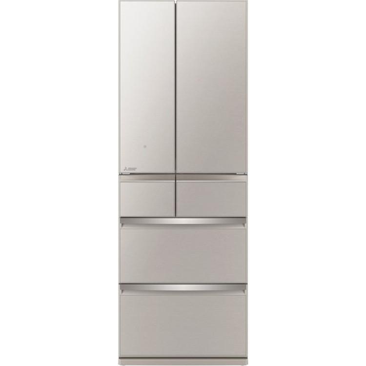 【標準設置対応付】三菱電機 MR-WX47G-C 冷蔵庫(470L・フレンチドア) 6ドア グレイングレージュ