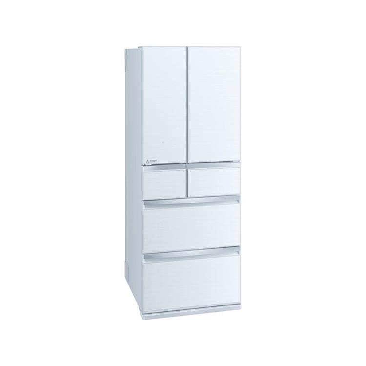 【標準設置対応付】三菱電機 MR-WX47LG-W 冷蔵庫(470L・フレンチドア) 6ドア  クリスタルホワイト