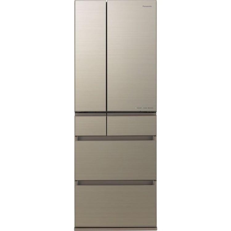 【標準設置対応付】パナソニック NR-F507HPX-N IoT対応冷蔵庫500L・フレンチドア 6ドア アルベロゴールド
