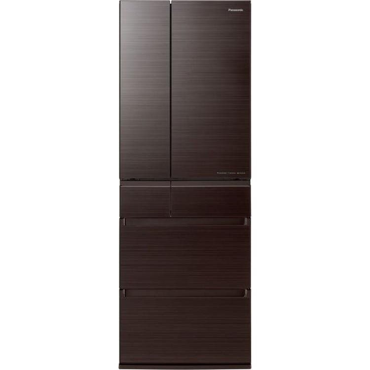 【標準設置対応付】パナソニック NR-F507HPX-T IoT対応冷蔵庫500L・フレンチドア 6ドア アルベロダークブラウン