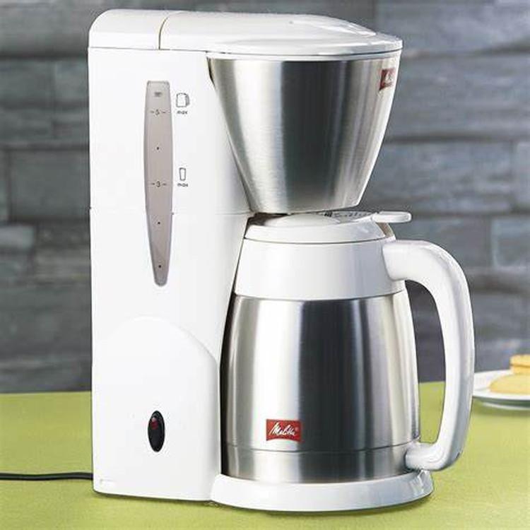 【メリタ】コーヒーメーカー(5杯用) ホワイト
