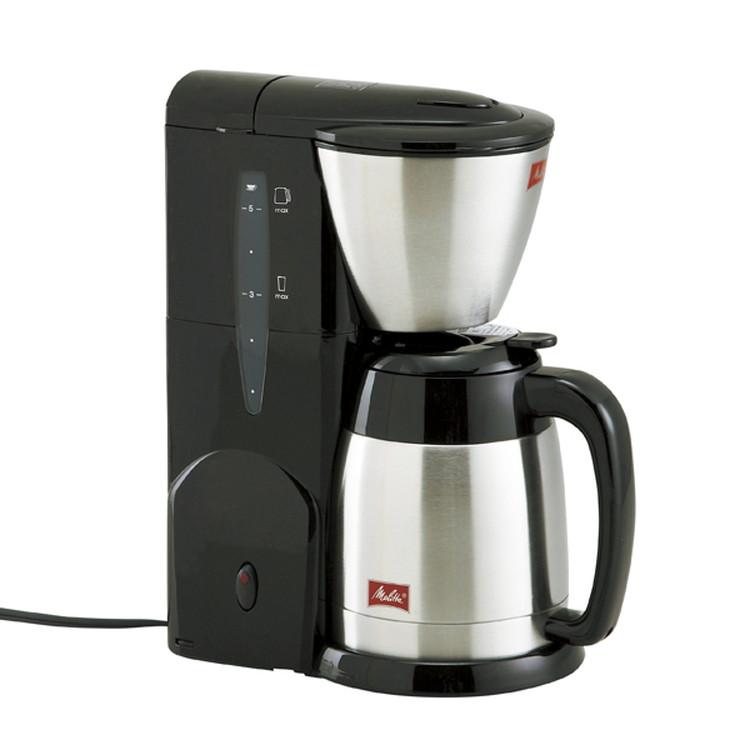 【メリタ】コーヒーメーカー(5杯用) ブラック
