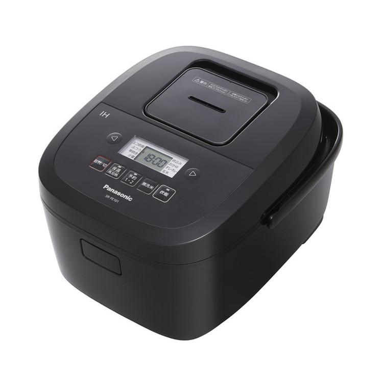 【パナソニック】 SR-FE101-K IHジャー炊飯器 5.5合炊き 2段IH&備長炭釜 ブラック