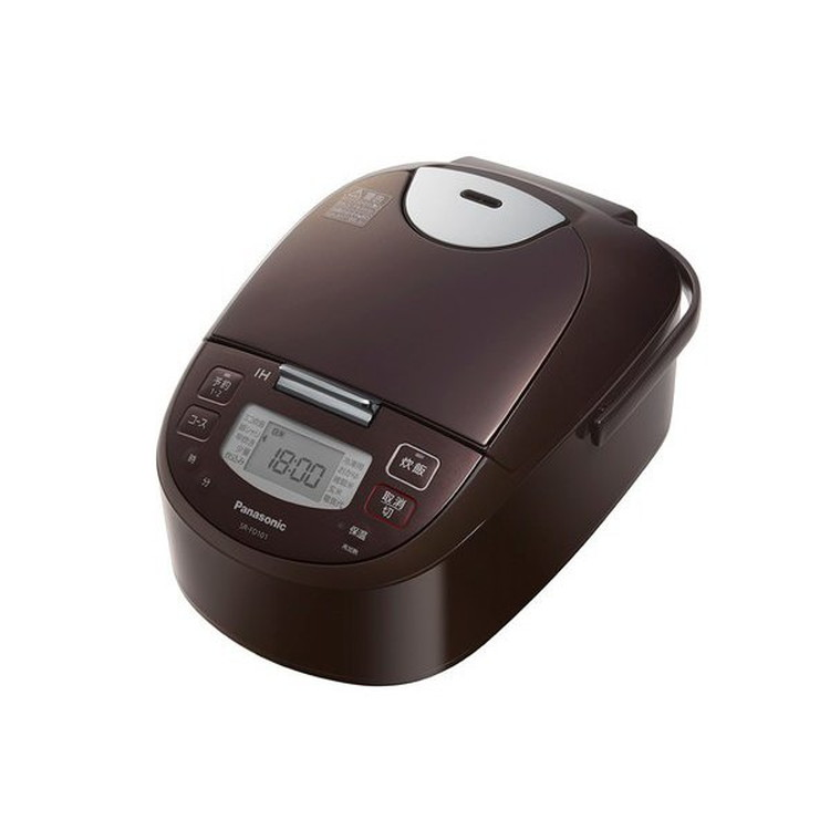 【パナソニック】 SR-FD101-T IHジャー炊飯器 5.5合炊き ダイヤモンド銅釜 ブラウン