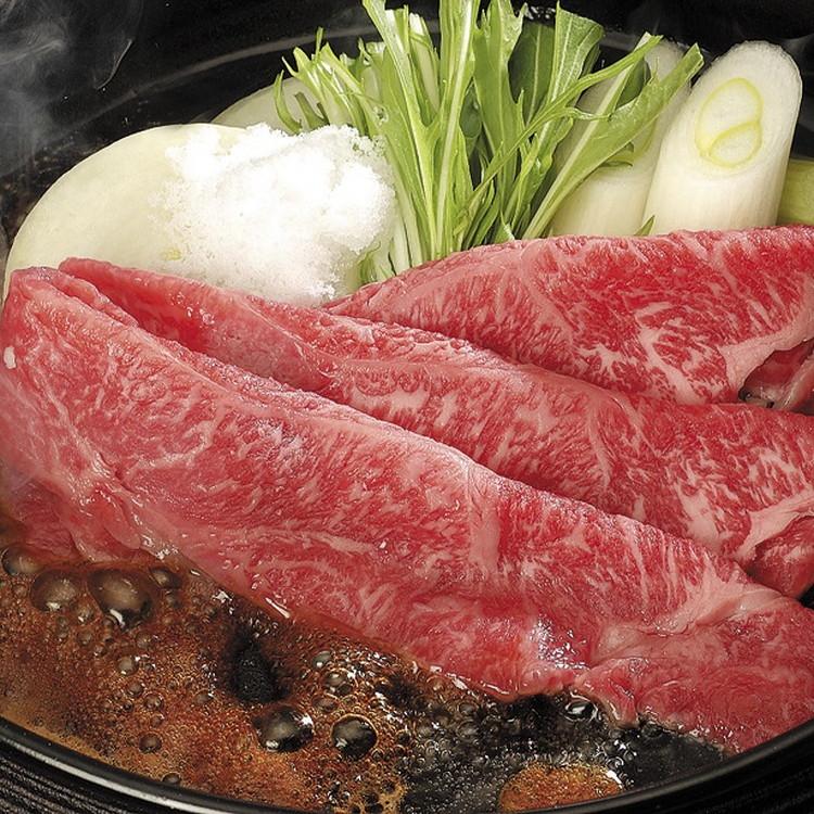 【茨城県】常陸牛モモすき焼き 400g