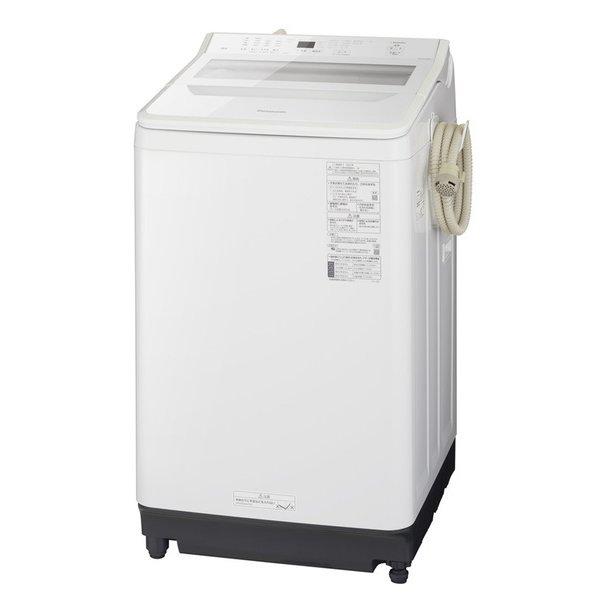 【標準設置対応付】パナソニック NA-FA100H9-W 全自動洗濯機 10kg ホワイト