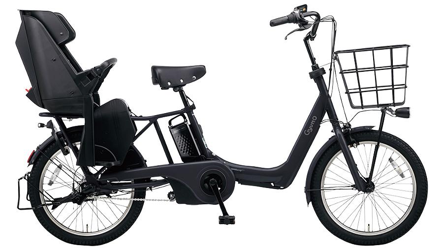 【パナソニック】電動アシスト自転車 ギュット・アニーズ・DX 20インチ マットジェットブラック