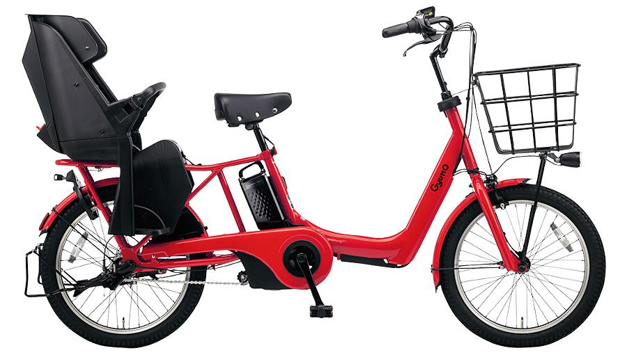 【パナソニック】電動アシスト自転車 ギュット・アニーズ・DX 20インチ ロイヤルレッド