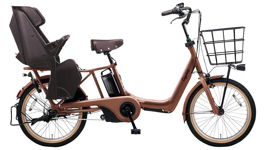 【パナソニック】電動アシスト自転車 ギュット・アニーズ・DX 20インチ マットフォースブラウン