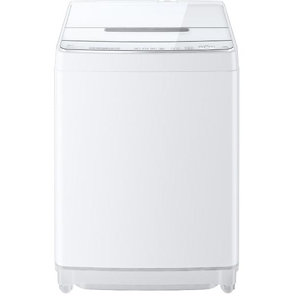 【標準設置対応付】東芝 全自動洗濯機 ZABOON(ザブーン) ウルトラファインバブル洗浄W 10kg グランホワイト