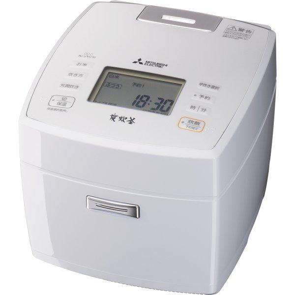 【三菱電機】 NJ-VVC10-W [IHジャー炊飯器 5.5合炊き 炭炊釜(5層厚釜) 月白