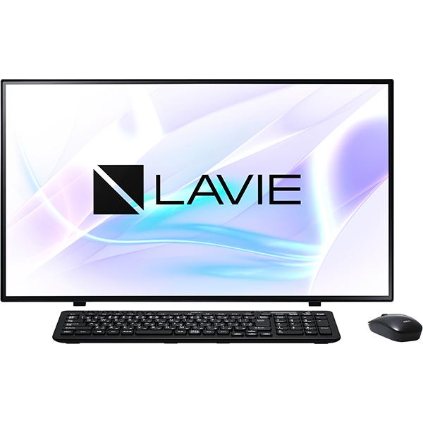 【NEC】PC-A2797BAB デスクトップパソコン 27型/Core i7-10510U ブラック