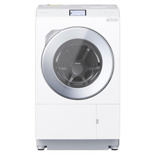【標準設置対応付】パナソニックNA-LX129AR-W ななめドラム洗濯乾燥機 洗濯12kg/乾燥6kg 右開き マットホワイト