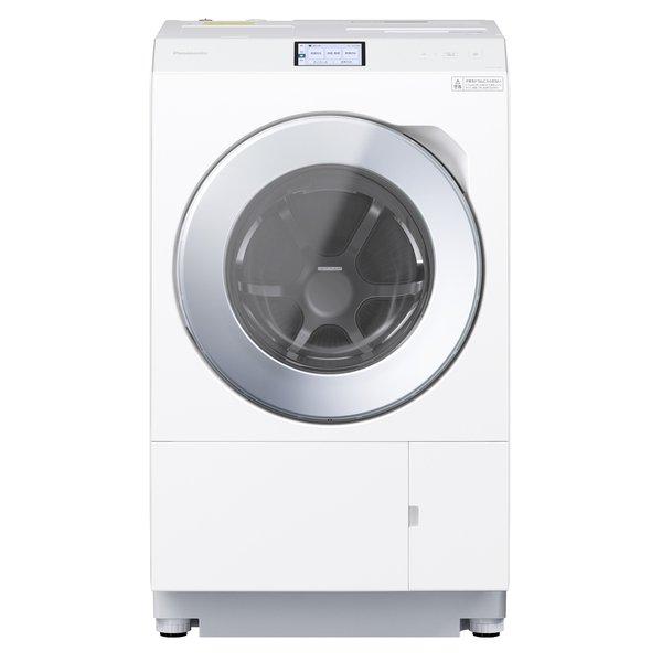【標準設置対応付】パナソニックNA-LX129AL-W ななめドラム洗濯乾燥機 洗濯12kg/乾燥6kg 左開き マットホワイト