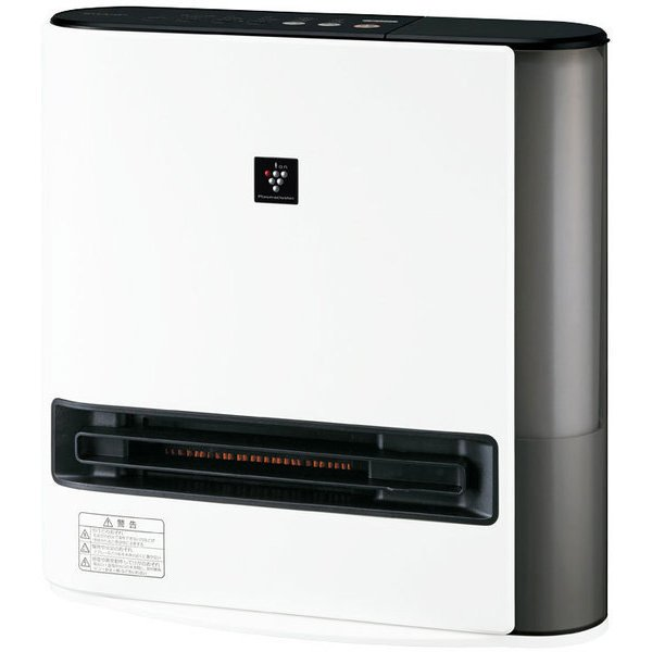 【シャープ】HX-PK12-W  加湿セラミックヒーター プラズマクラスター7000 ハイブリッド式 /プレミアムホワイト