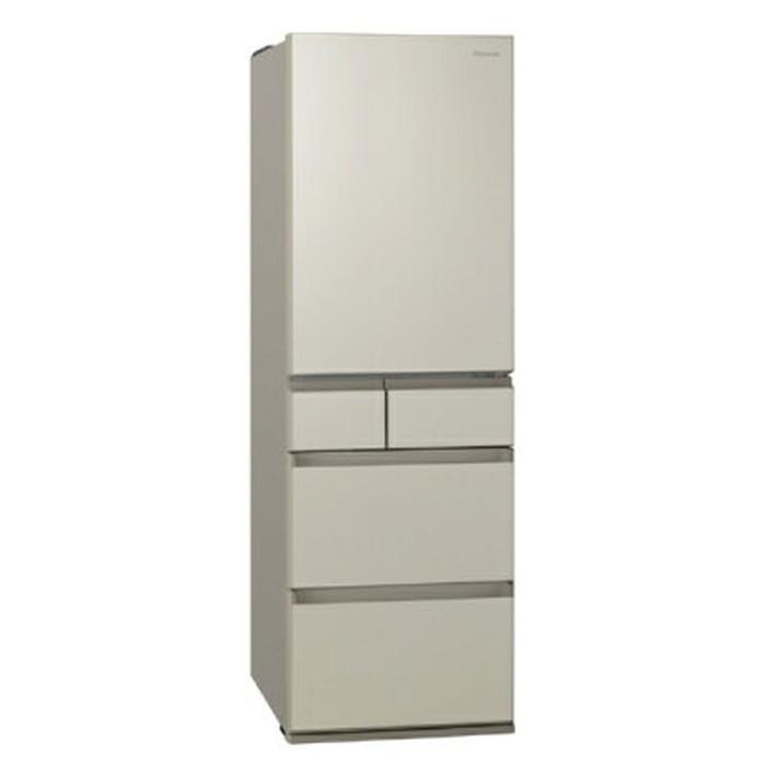 【標準設置対応付】パナソニック NR-E457PX-N パーシャル搭載 冷蔵庫450L・右開き 5ドア サテンゴールド