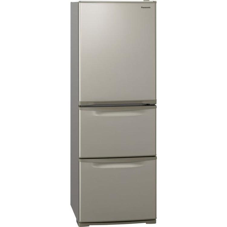 【標準設置対応付】パナソニック NR-C342C-N 冷蔵庫335L・右開き 3ドア グレイスゴールド