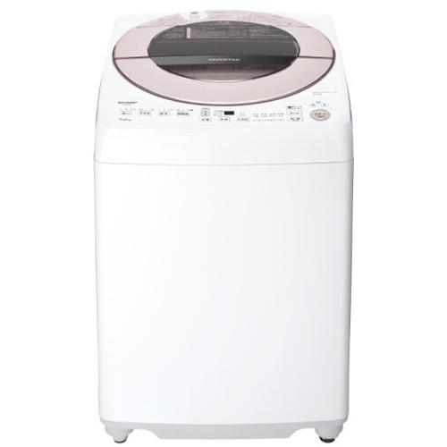 【標準設置対応付】シャープ ES-GV7F-P 全自動洗濯機 7kg ピンク系