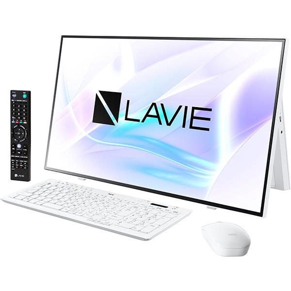 【NEC】PC-A2797BAW デスクトップパソコン 27型/Core i7-10510U ホワイト