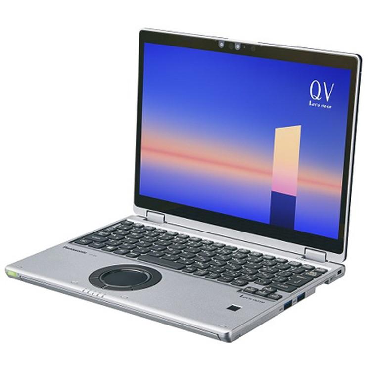 【パナソニック】CF-QV1FDMQR 12型/メモリ 16GB/SSD 512GB/ブラック&シルバー