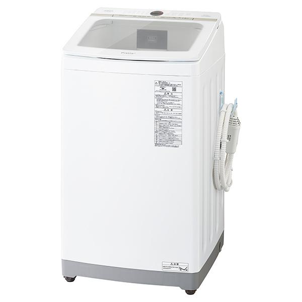【標準設置対応付】AQUA AQW-VX9M(W) Prette プレッテ 簡易乾燥機能付き洗濯機 9.0kg