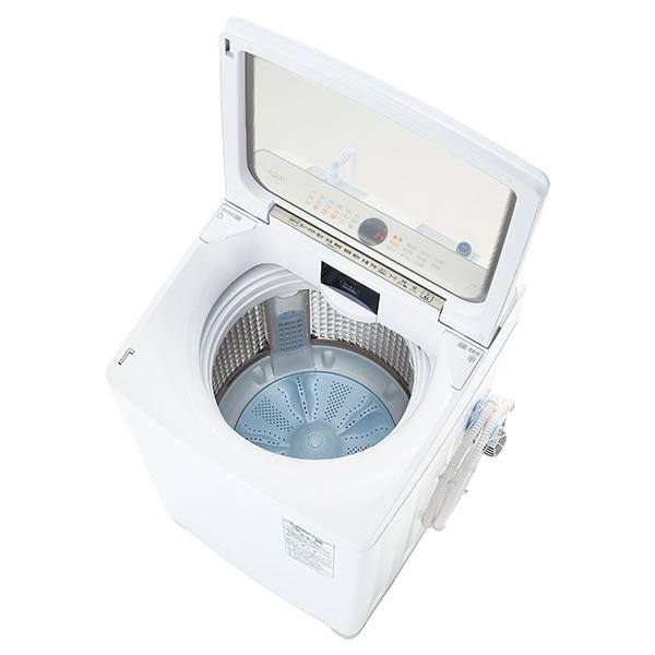 【標準設置対応付】AQUA AQW-VX10M(W) Prette プレッテ 簡易乾燥機能付き洗濯機 10.0kg