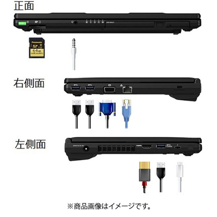 【パナソニック】CF-SV1GDUQR 12.1型/メモリ 16GB/SSD 256GB/ブラック