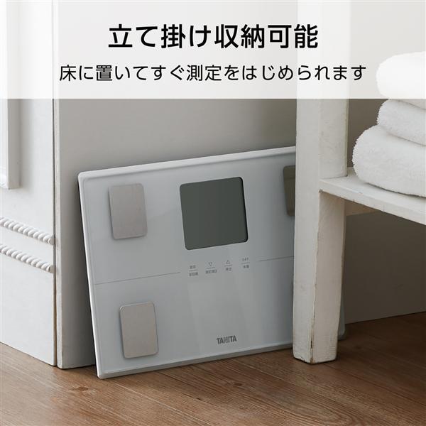 【タニタ】  体組成計 パールホワイト BC-316-WH