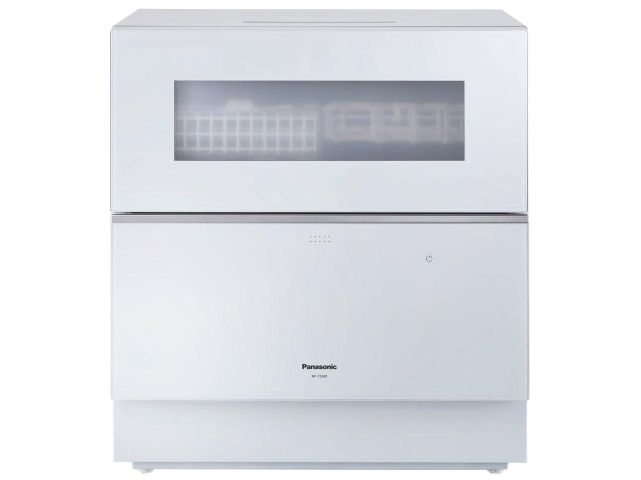 【パナソニック】食器洗い乾燥機 ナノイーX搭載 ホワイト NP-TZ300-W