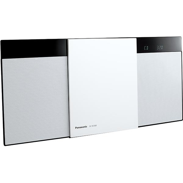 【パナソニック】 SC-HC320-K  コンパクトステレオシステム ホワイト